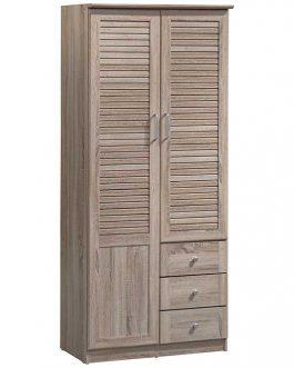 2 DOOR WARDROBE MH9121S 80X42X183CM