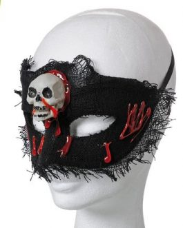 EYE MASK SKELETON