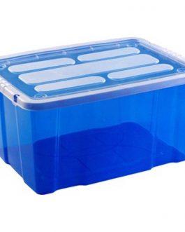 BIG BEN CHEST BOX 55 L BLUE TRANSPARENT