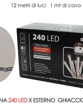 240 LED LIGHTS EXT.  ICE B/O
