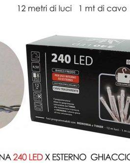 240 LED LIGHTS EXT.  ICE B/O