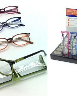 READING GLASSES W/CASE