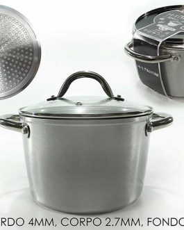 CASSEROLE W/LID TITANIUM INDUCTION 20CM