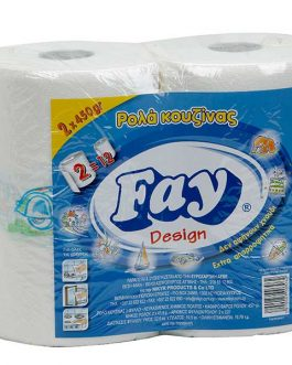 FAY KITCHEN ROLL2PLY 43.8M 2X450G