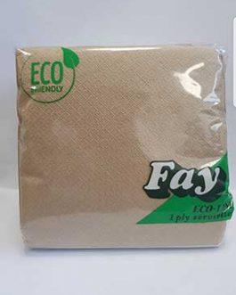 FAY NAPKINS ECO IPLY  29CM X100
