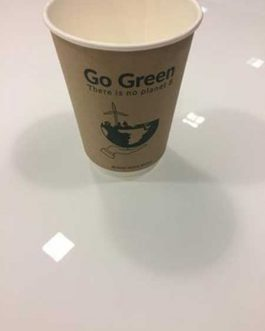GO GREEN DOUBLE WALL CUP FSC 120Z  X23