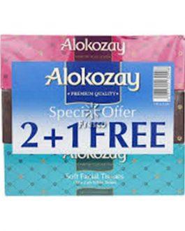 ALOKOZAY TISSUES 150X2PLY 2+1