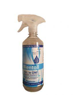 BIENTOLL ALL IN ONE FRAGRANCE FREE 550ML