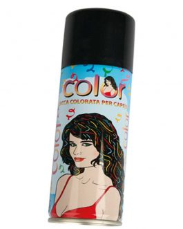 HAIR COLOUR SPRAY BLACK
