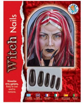 WITCH NAILS BLACK